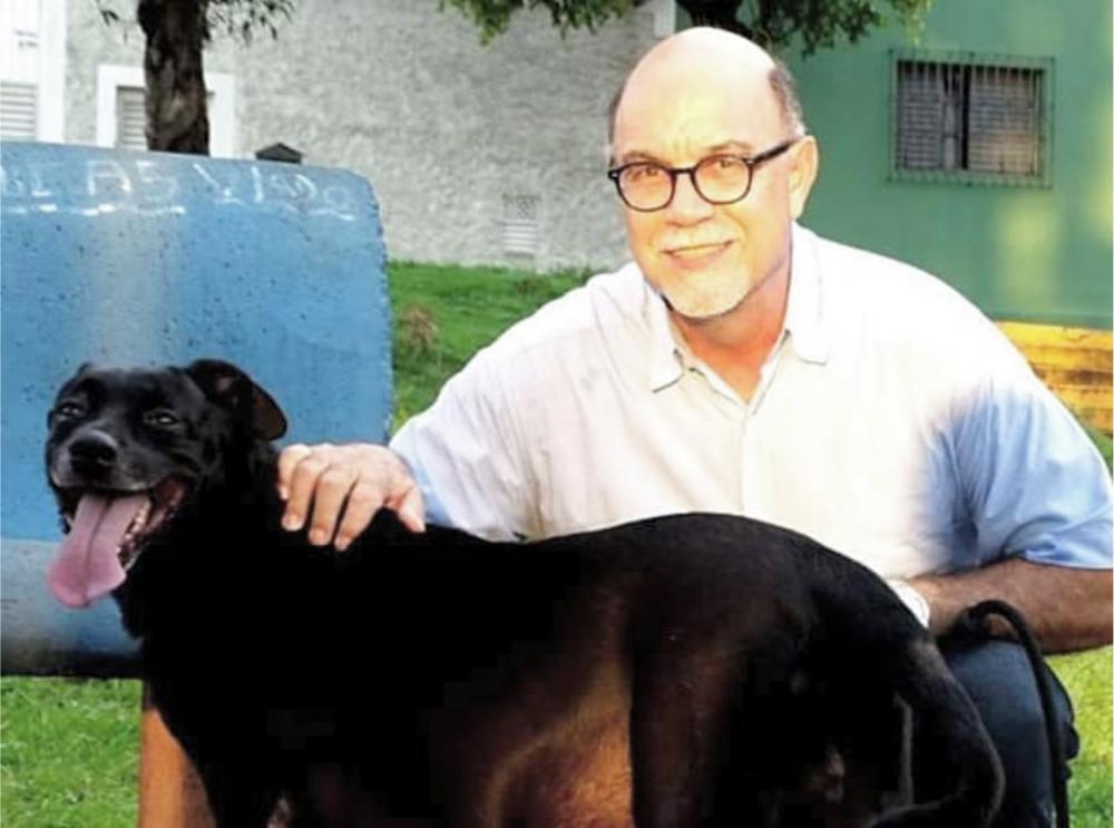 O jornalista Marcos Moreno integra a equipe que participará da feira de adoção de cães e gatos durante a Chopp Time Run Fest