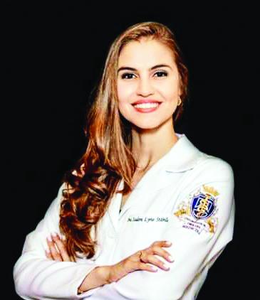 A bela e talentosa Isadora Lyrio Stabile cola grau em Medicina pela Uniube na próxima sexta-feira, dia 13 de dezembro - Fotos: Divulgação