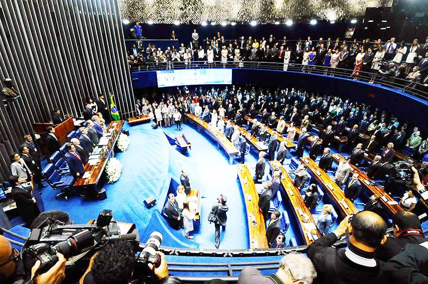 CCJ do Senado aprova pacote anticrime e projeto sobre prisão em 2ª instância - Foto: Celso Tavares/G1