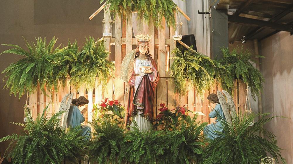 Nove missas serão celebradas em louvor à Santa Luzia, a padroeira dos olhos e da visão - Foto: Divulgação