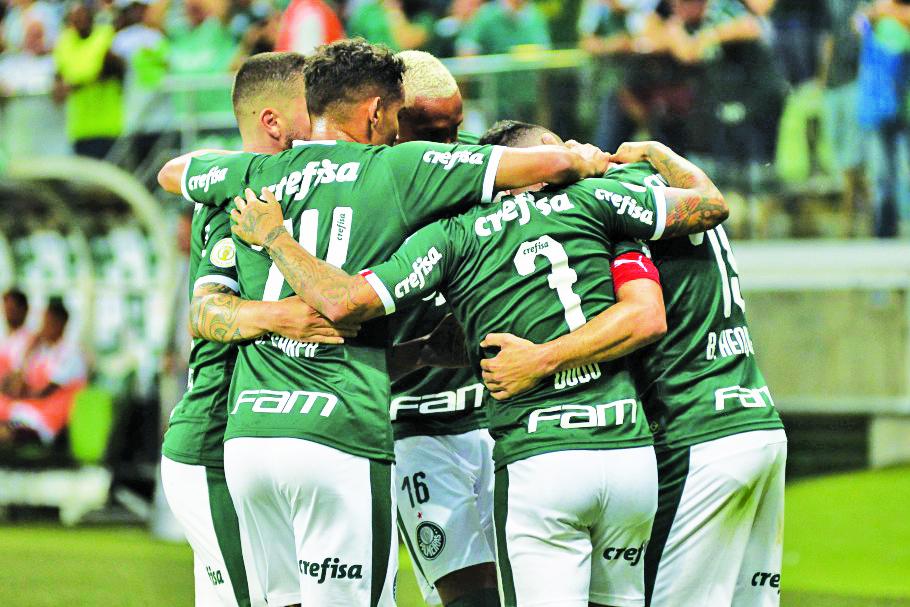 Palmeiras mantém posição do ranking anterior e continua na liderança do ranking do futebol brasileiro - Foto: Divulgação