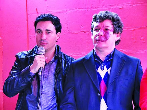 Deputado estadual Cristiano Silveira e o deputado federal Reginaldo Lopes recebem o PT de Minas para a posse da nova executiva - Foto: Arquivo Amirt