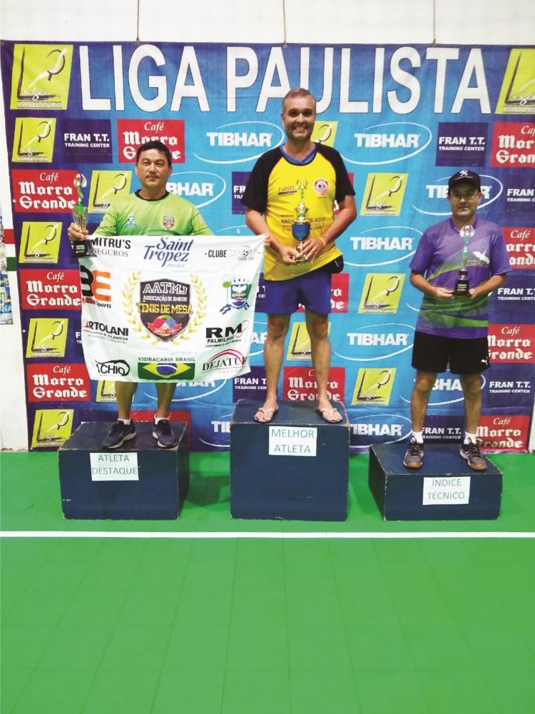 Roberto Ribeiro de Moraes conquista título no tênis de mesa