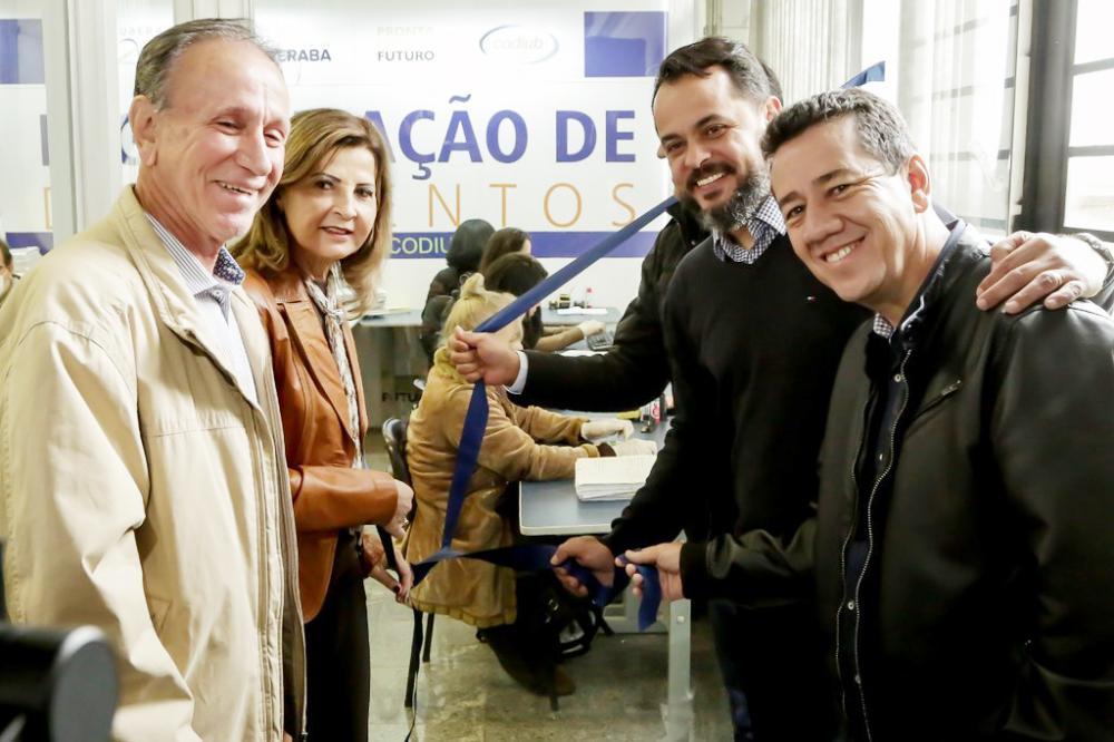 Prefeito Paulo Piau inaugura Central de Digitalização de Documentos da Prefeitura de Uberaba