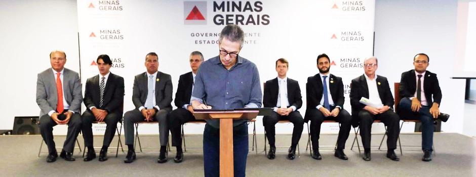 Governo anuncia atração de investimentos recorde para Minas; Novo pacote soma R$ 14,7 bilhões, ampliando para R$ 55,9 bilhões o total de parcerias fechadas em 2019 pelo governo- Foto: Gil Leonardi/Imprensa MG