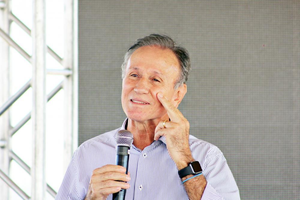 O prefeito Paulo Piau (MDB) está de olho na sucessão eleitoral; é aguardado o anuncio da indicação do nome após o aniversário da cidade - Foto: Neto Talmelli
