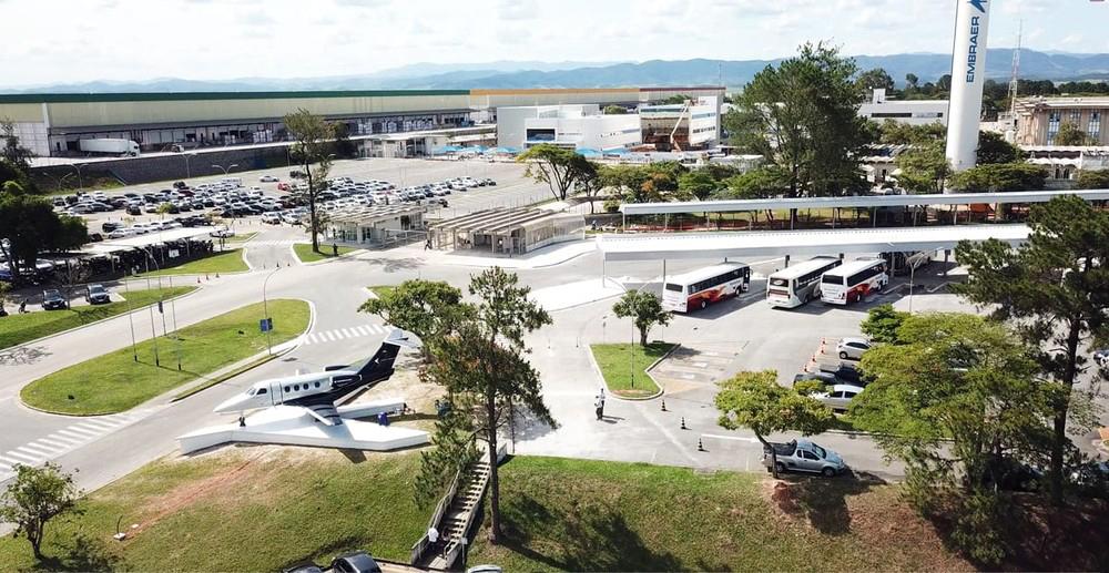 Unidade da Embraer em Eugênio de Melo, em São José dos Campos, foi ampliada e passará a ter 4 mil funcionários - Foto: Embraer/Divulgação