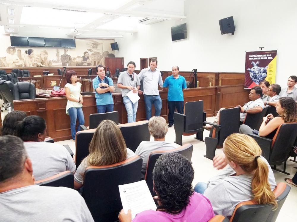 Servidores da Câmara Municipal aprovam pauta de reivindicações