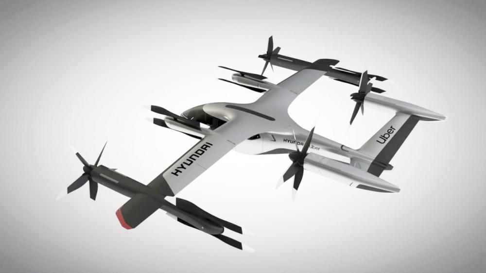 Uber e Hyundai estabelecem parceria para lançar veículos aéreos - Foto: Hyundai