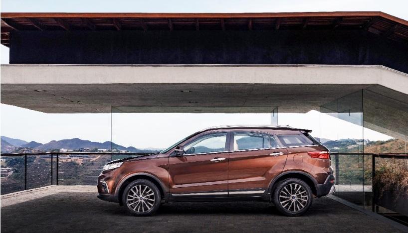 Ford confirmou na quarta-feira o lançamento do Territory no Brasil em 2020