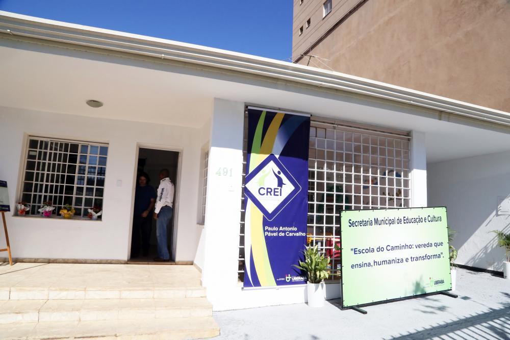 Sede do Crei: Uberaba é polo em educação inclusiva e referência para 39 municípios - Foto: Enerson Cleiton/PMU