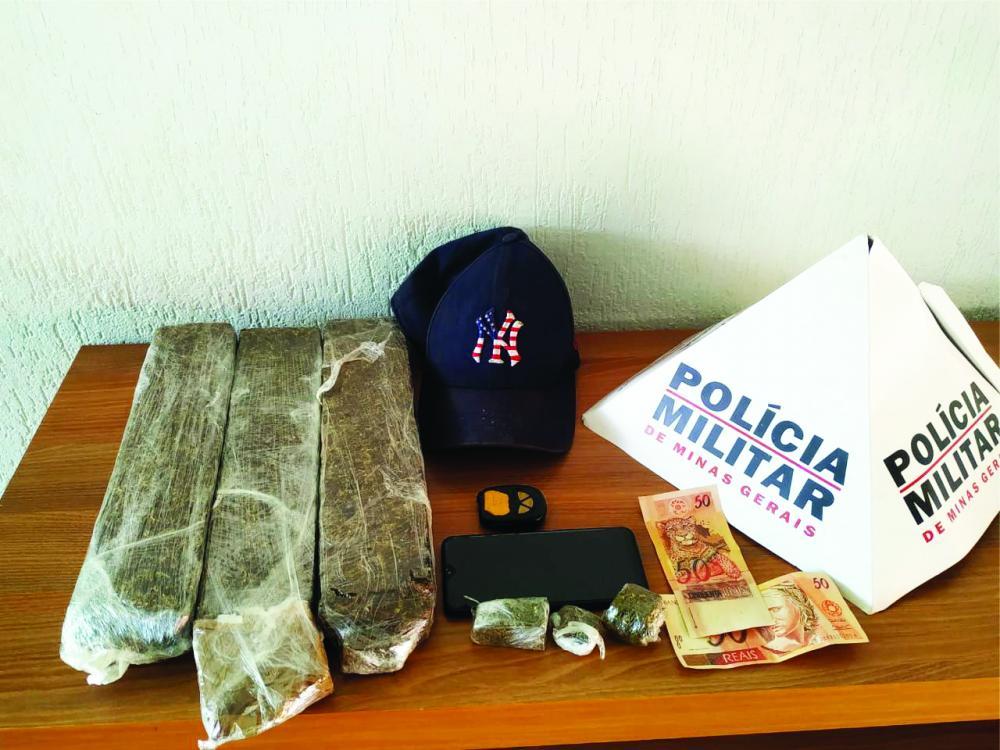 Drogas foram apreendidas na casa do acusado