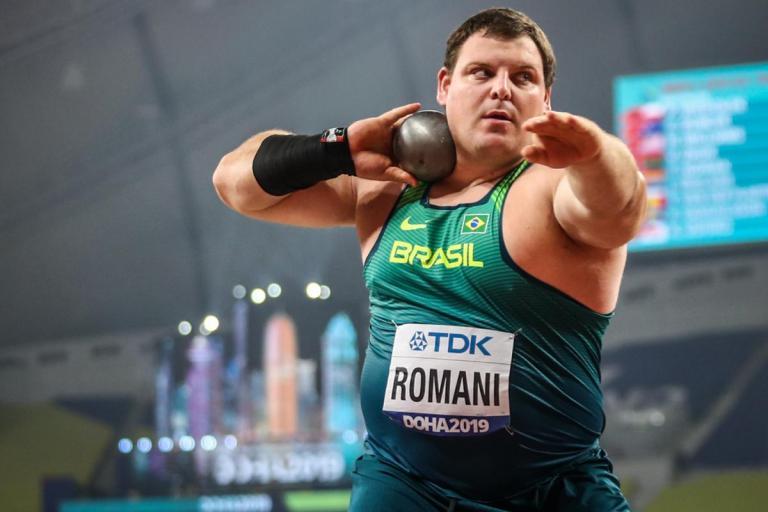 Darlan Romani foi eleito o melhor do atletismo nacional em 2019 - Foto: Wagner Carmo/CBAT