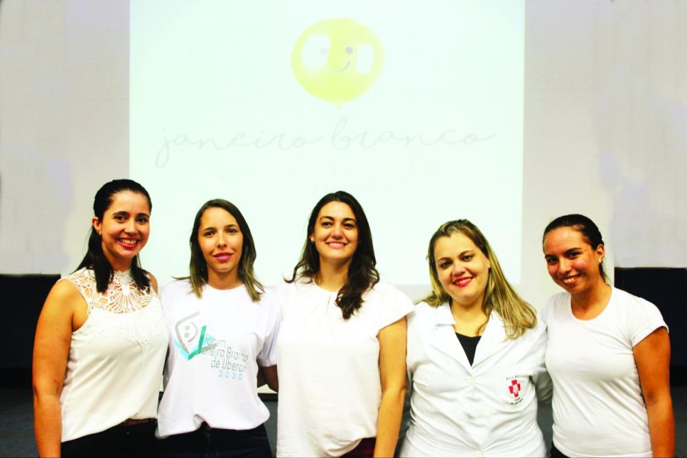 """Seminário interno """"Saúde Mental e Mobilização pela Vida"""" marcou a campanha Janeiro Branco no hospital Hélio Angotti - Foto: Ari Moraes/HHA"""