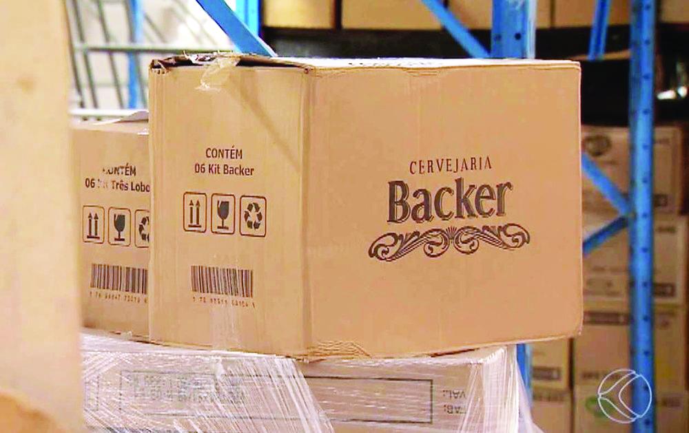 Cervejas produzidas pela Backer são interditadas cautelarmente - Foto: Reprodução/TV Integração