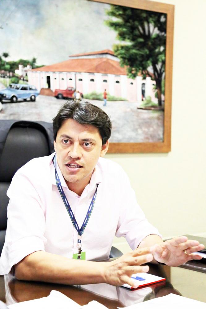 Secretário de Administração Rodrigo Vieira (PSD) inaugura hoje o Centro de Distribuição de Uberaba - Foto: Arquivo/JU