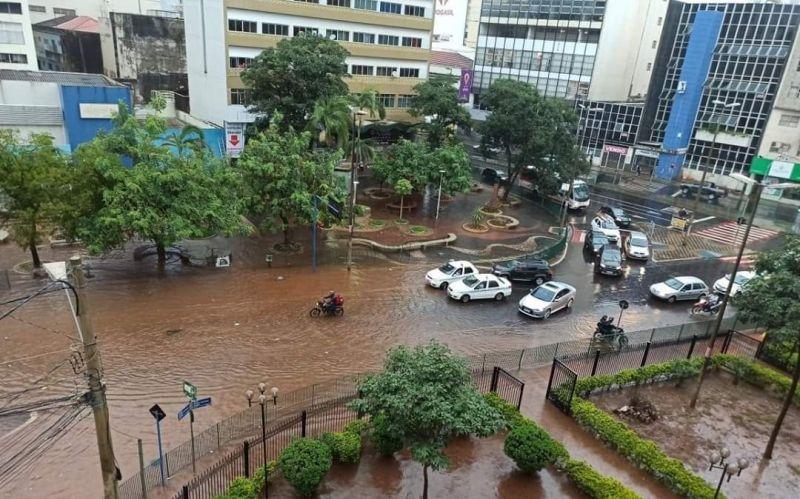 O esperado para o mês de janeiro é de 202 milímetros e em 16 dias a precipitação pluviométrica no município foi de 314 mm - Foto: Divulgação