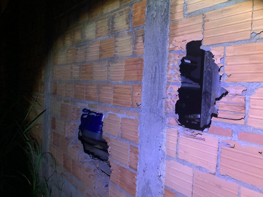PM registrou o crime no Parque das Américas - Foto: Juliano Carlos