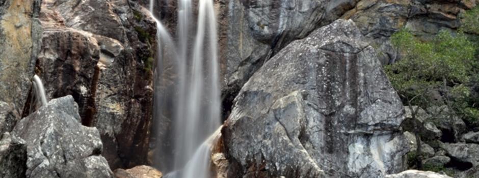 A Cachoeira do Crioulo é uma alternativa para viajantes interessados em trilhas e aventuras - Foto: Rafael Botelho / Acervo Secult