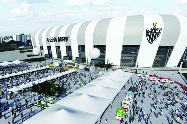 Arena MRV será construída no bairro Califórnia - Foto: Divulgação/Arena MRV