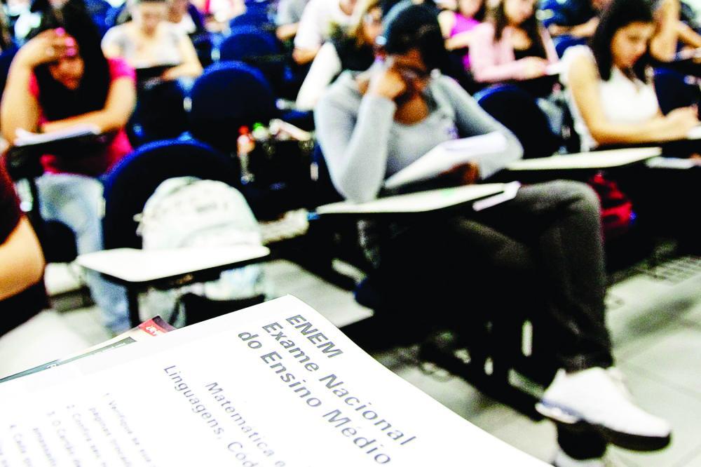 Exame teve 3,9 milhões de participantes ano passado - Foto: Carlos Cecconello/Folhapres