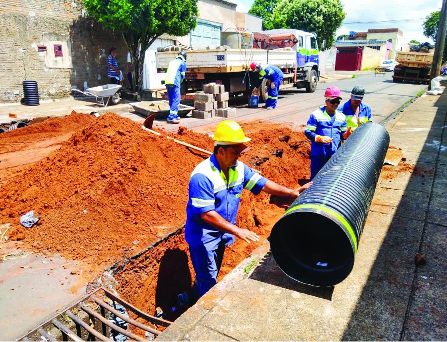 Codau realiza obras complementares de drenagem