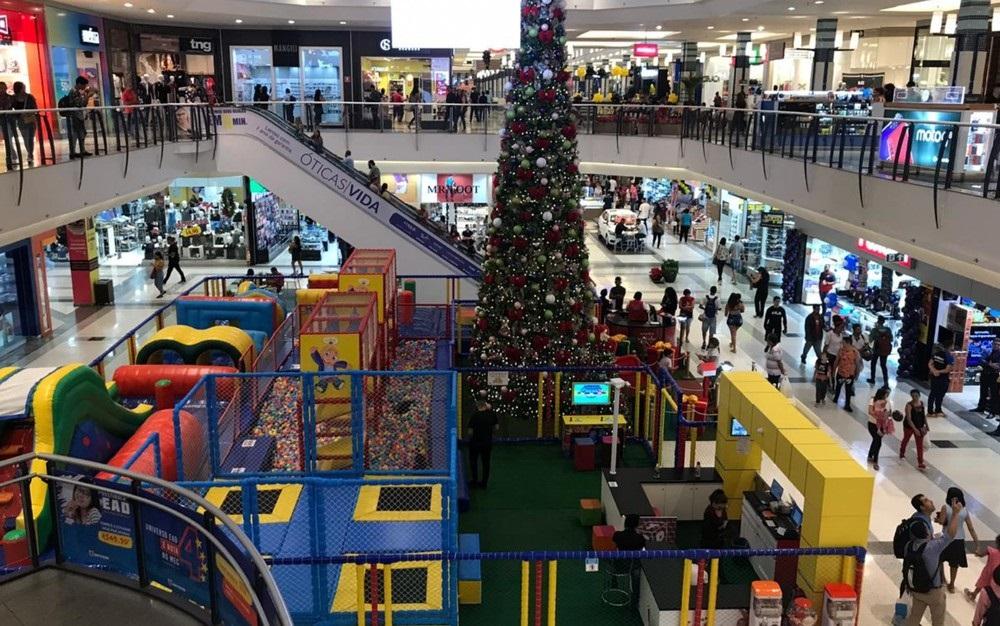 Shopping na Grande Goiânia - Foto: Jamyle Amoury/G1 Goiás