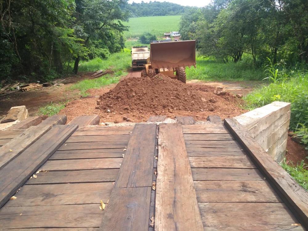 Estradas da zona rural do município passaram por manutenção e revitalização pela equipe da Sagri - Foto: Divulgação