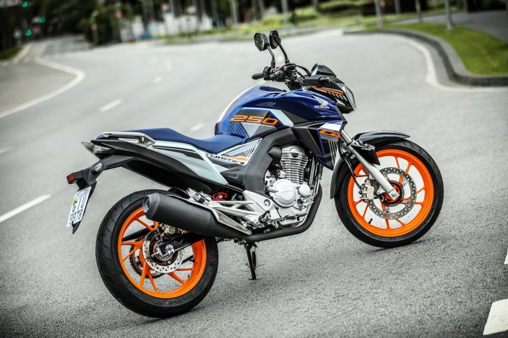 Honda CB Twister Special Edition 2020 - Foto: Divulgação