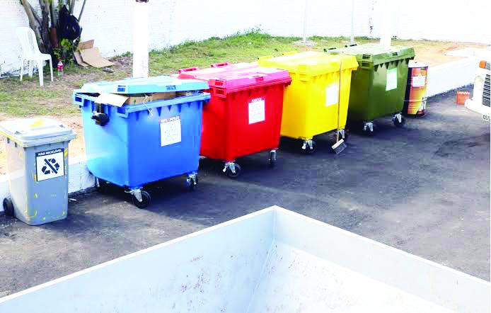 A implantação de ecopontos descarta a necessidade de triagens posteriores do lixo - Foto: Divulgação