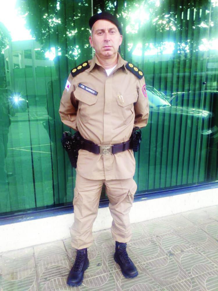 Coronel Robson Garrido de Paiva Silva será o novo comandante da 5ª RPM em Uberaba - Foto: PMMG