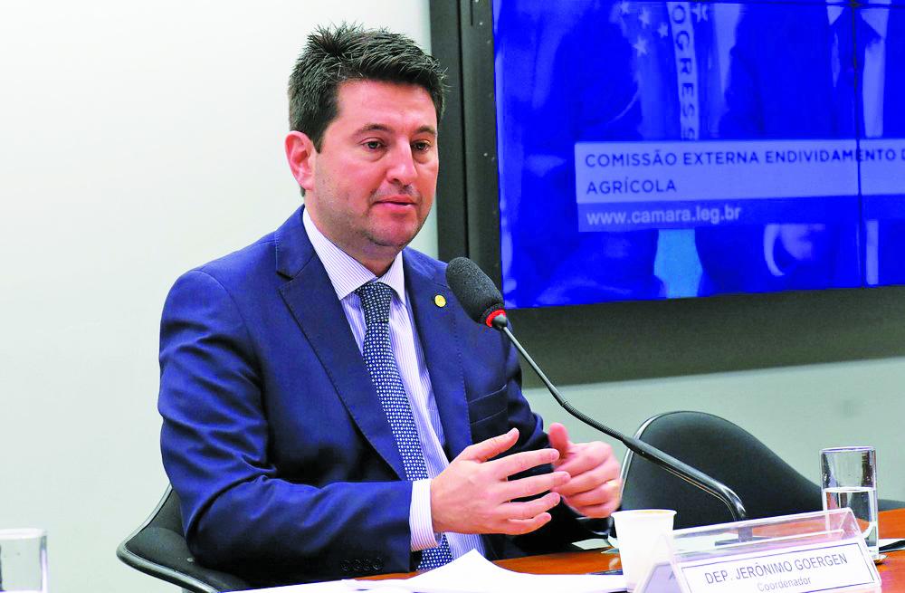 O deputado Jerônimo Goergen (PP-RS), relator da medida provisória da liberdade econômica