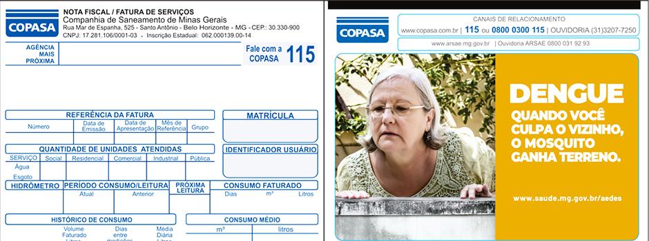 Secretaria de Saúde firma parceria com Copasa e Minas Tênis Clube para divulgação de ações contra o Aedes - Foto: Reprodução