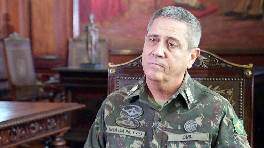 General Walter Souza Braga Netto - Foto: Reprodução/GloboNews
