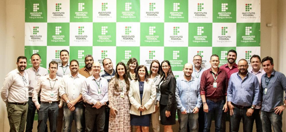 Participantes da 1ª reunião do Colégio de Dirigentes da nova gestão do IFTM - Foto: Danilo Almeida/IFTM