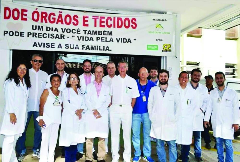 UFTM está autorizada a realizar nono procedimento na área de transplantes, comemora o coordenador da Comissão Intra-Hospitalar de Doação de Órgãos e Tecidos para Transplantes (CIH-DOTT), Ilídio Antunes de Oliveira Júnior
