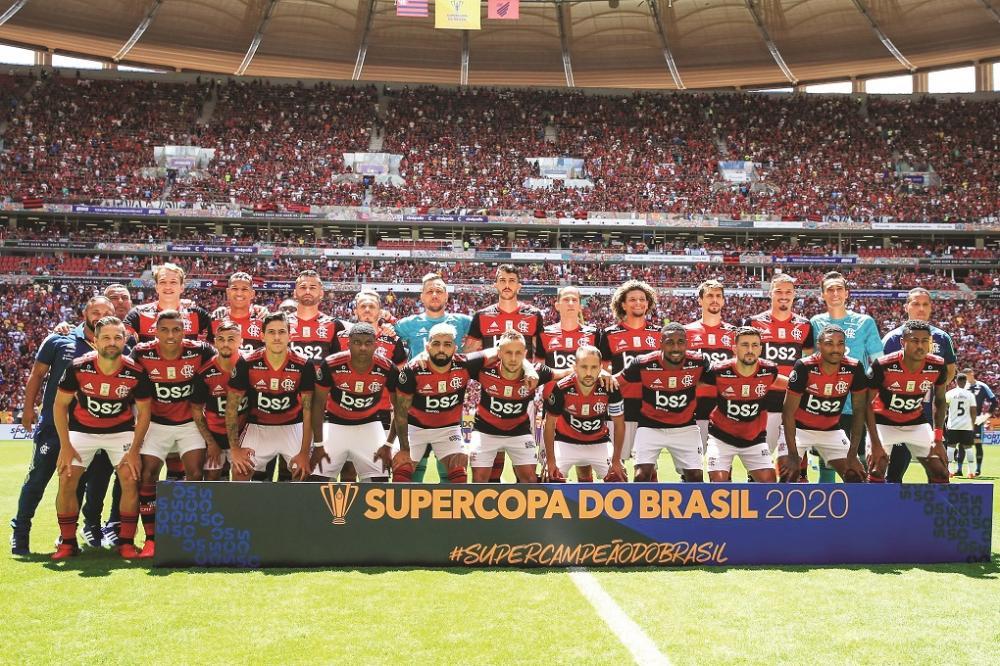 Fla conquista o título de campeão da Recopa do Brasil ao bater o Athletico-PR - Foto: Divulgação