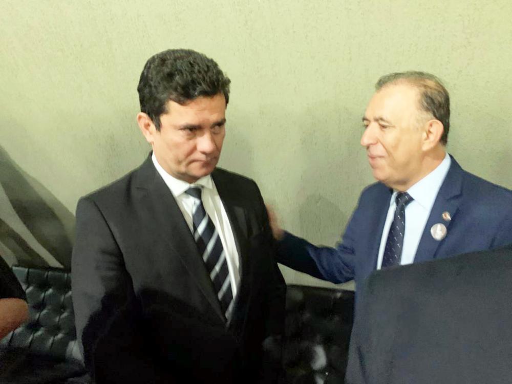 Deputado Heli Andrade encontra com o Ministro Sergio Moro em Belo Horizonte