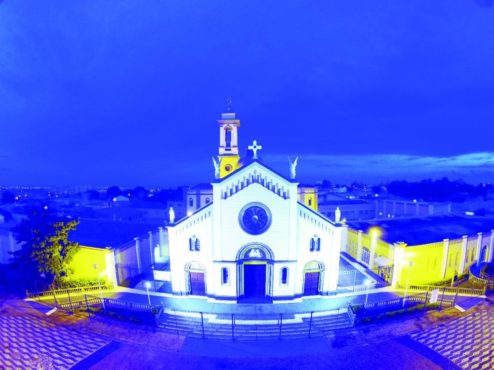 Papa Francisco, juntamente com a Congregação para o Culto Divino e Disciplina dos Sacramentos, concedeu o título de Basílica ao Santuário de Nossa Senhora D'Abadia de Uberaba - Foto: Divulgação