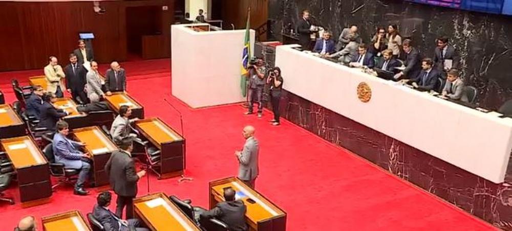 Deputados estaduais aprovam em 2º turno reajuste para funcionalismo - Foto: Reprodução/TV Globo