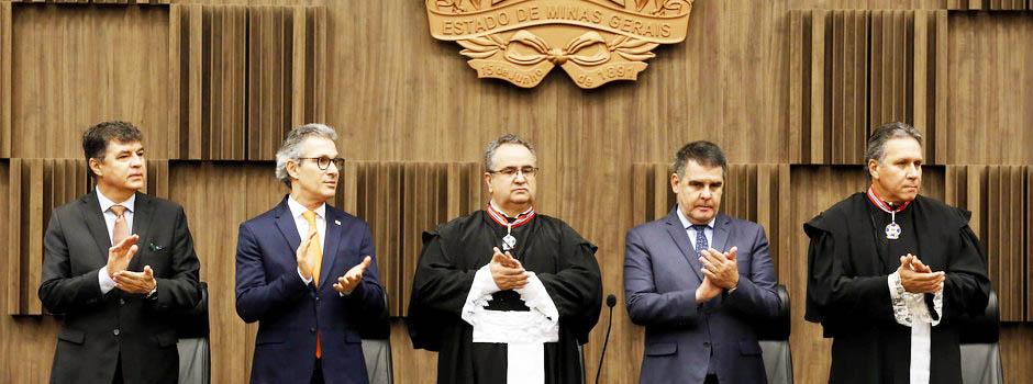 Nomes foram indicados pelo chefe do Executivo após apresentação da lista tríplice pelo MPMG - Foto: Gil Leonardi/Imprensa MG