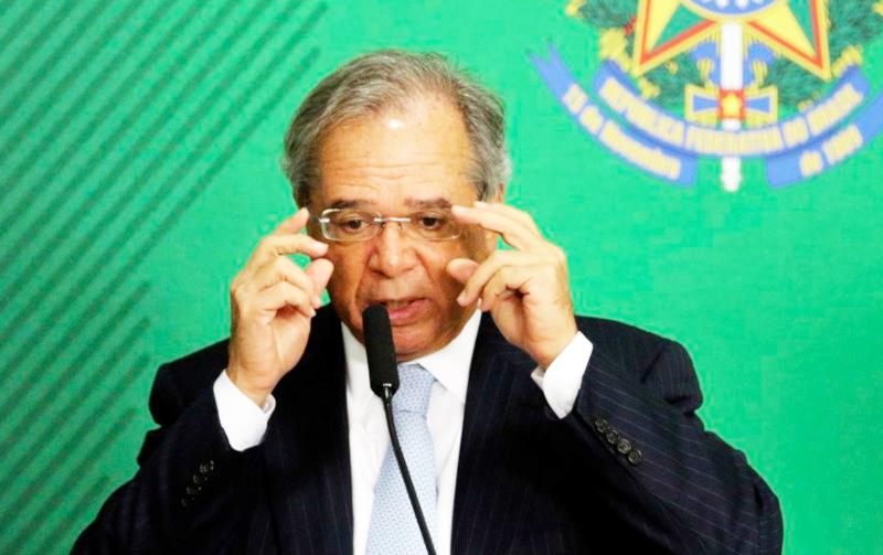 """O ministro da Economia, Paulo Guedes, afirmou que, o governo, quando formula políticas econômicas pensa """"em todos os brasileiros e, particularmente, nos mais humildes"""" - Foto: Divulgação"""