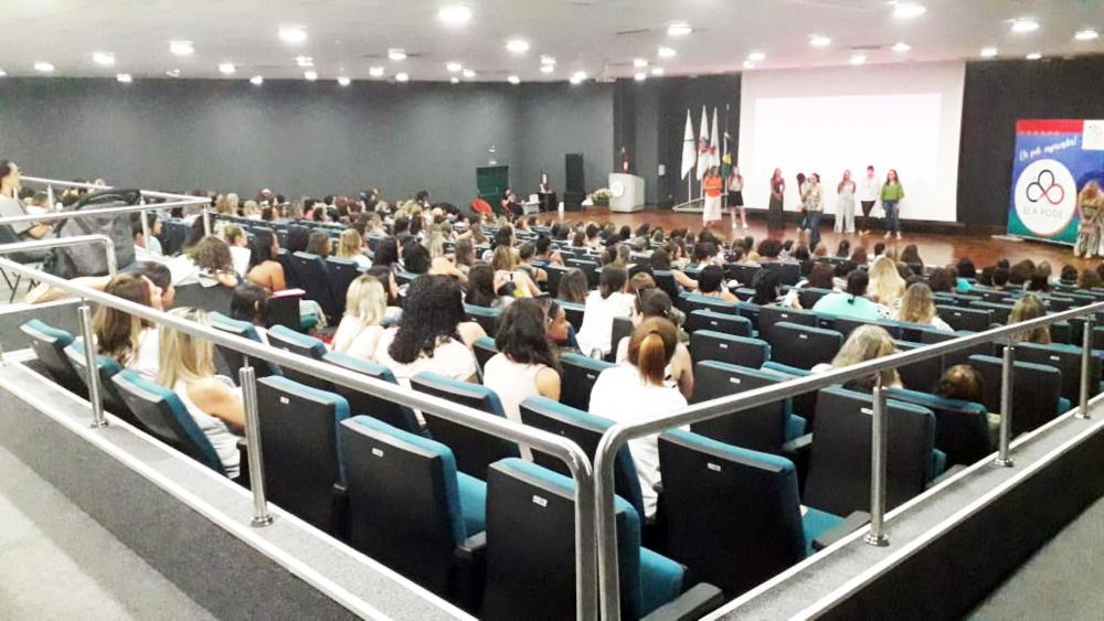 ELA PODE, evento de capacitação do Instituti Rede Mulher Empreendedora, financiado pela Google - Foto: Divulgação