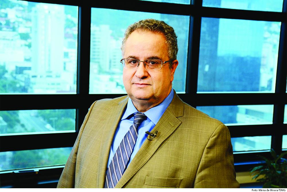 Desembargador Nelson Missias de Morais, conta que, ao assumir o comando da Casa, o PJe estava instalado em 12% das comarcas - Foto: Divulgação