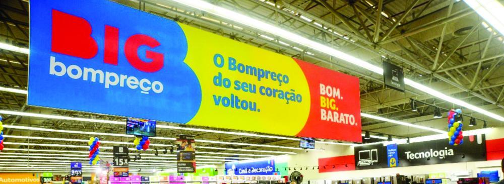 O Grupo Big agora opera 550 unidades no Brasil e tem 50 mil funcionários em 18 estados brasileiros - Foto: Divulgação
