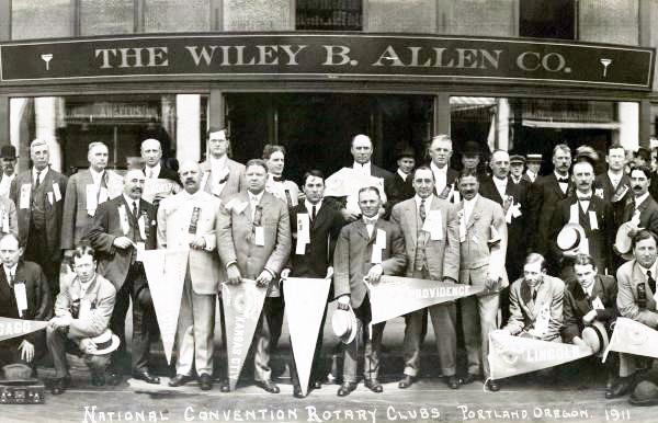 Convenção do Rotary em 1911 – Portland