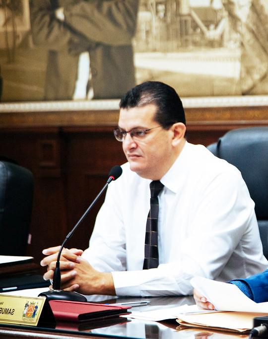 Para o vereador Samuel Pereira, é importante a prefeitura informar sobre quais medidas de prevenção serão adotadas durante o período da ExpoZebu - Foto: Rodrigo Garcia/CMU