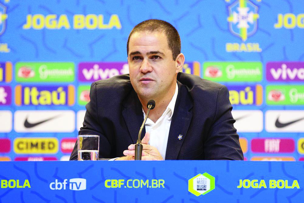 André Jardine na convocação da seleção brasileira olímpica para amistosos - Foto: Lucas Figueiredo/CBF