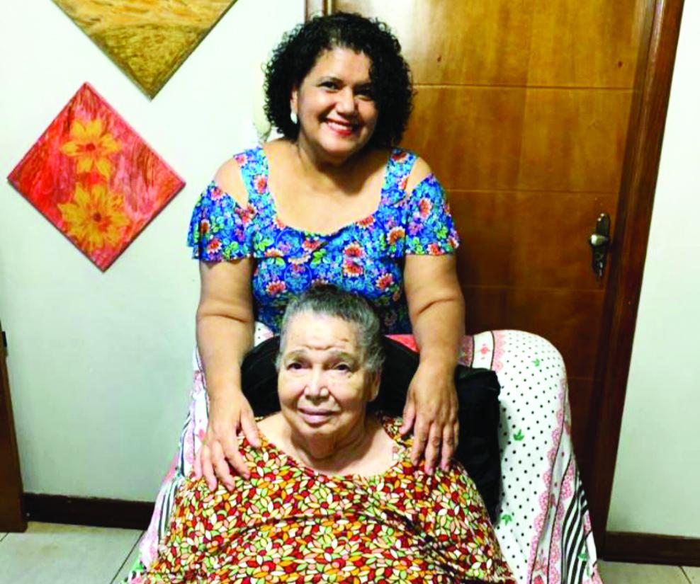 Ana Lázara Amâncio de Souza e Maria dos Reis Amâncio