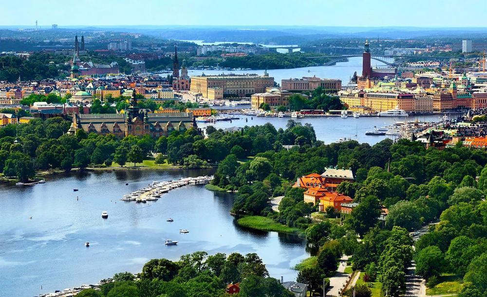 Passeio de Caiaque em Estocolmo, Suécia